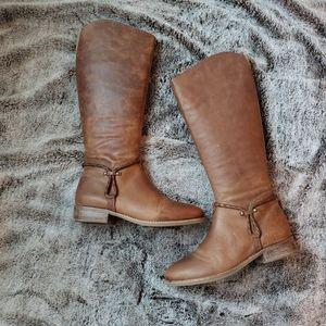 Matisse Tan Leather Lariat Boot